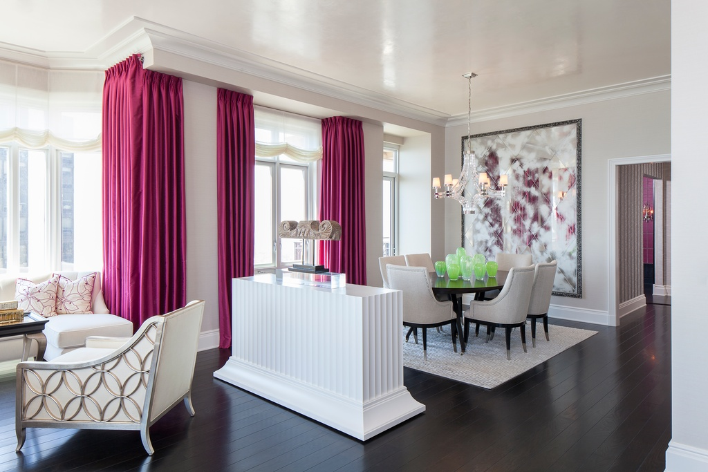 decoration interieur rose
